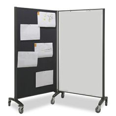 The Communication Partitions are a versatile free-standing room partitioning system that can be added to at any time.