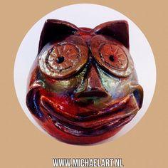 My own ceramic smiley