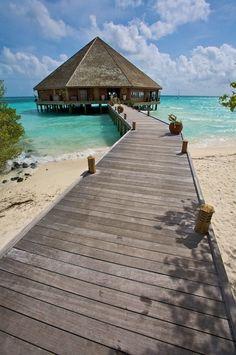 """The Maalan restaurant, Meeru, Maldives"" by Kjetil M. Maldives Honeymoon, Honeymoon Vacations, Couples Vacation, Maldives Travel, Honeymoon Destinations, Maldives Trip, Honeymoon Inspiration, Holiday Places, The Great Escape"