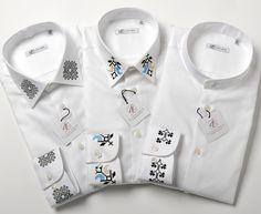 #CadouripentruEL ✨ #GiftsforHIM Deosebite prin frumusetea broderiilor romanesti, sunt cadoul perfect pe care poti sa il oferi unui domn special din viata ta. Descopera #camasilebarbatesti ALISIA ENCO!   #MadeinRomania #Livraregratuita #Camasibarbati Men Shirts, Sweatshirts, Sweaters, Fashion, Embroidery, Moda, Fashion Styles, Mens Fashion Shirts, Men Shirt