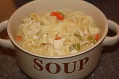 Simply This and that: Lion House Chicken Noodle Soup