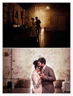 Love these romantic shots of Kyle and Brooke dancing by The Lovely Lens.