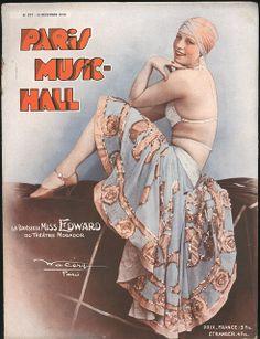 Paris Music Hall #227 - 15 December 1930 by -=- G2 -=-, via Flickr