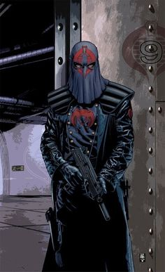 Gi Joe - cobra commander Scared the shit out of me as a kid.still, that's pretty imposing. Comic Book Villains, Comic Books Art, Comic Art, Comic Pics, Thundercats, Live Action, Gi Joe Characters, Cartoon Characters, Cobra Commander