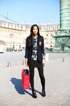 "En la calle .... Melanie Huynh, A Sartorialist All-Star ""The Sartorialist"