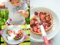 {Strawberry and Almond Tart} :: Cannelle et Vanille