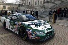 #75 Marshall University NASCAR