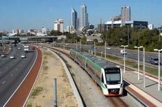 #cityofperth #travels #trains #transport #city #perth #wa #westernaustralia