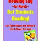 For Independent Novels or Class Novels!! Perfect reading log for students to use as they read their novels.  The packet is a 13 page PDF packet co...$