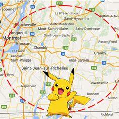 Parce que toi aussi, je suis certaine que tu joues à Pokémon Go, voici 10 endroits où trouver des Pokémons sur la Rive-Sud de Montréal.