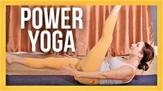 45 min POWER YOGA for Strength, Flexibility & Balance - INTERMEDIATE YOG... Yoga Fitness, Health Fitness, Free Yoga Videos, Yoga Philosophy, Workout Videos, Workouts, Morning Yoga, Yoga Challenge, Best Self