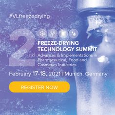 Do you want to receive new perspectives? Engage in candid discussions and debates on process innovation and technical aspects in lyophilisation? Gain a better understanding of food and cosmetics manufacturers, regulatory agencies, and academia? We are pleased to invite you to the 2nd Freeze-Drying Technology Summit that will take place in Düsseldorf, Germany. Convene with engaging speakers in an enlightening gathering of like-minded professionals. Cosmetics Ingredients, Cosmetics Industry, Freeze Drying, Food Industry, New Perspective, Speakers, Candid, Gain, Invite