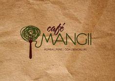 café mangii by two. , via Behance