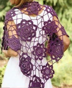 Pareo o punta tejido a crochet facil de hacer si te quieres ver femenina y distinguida tienes que tejer OjoconelArte.cl  