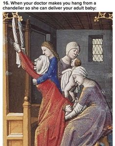 #medievalmemes #revivalclothing #medieval #medievalhumor Funny Christmas Photos, Christmas Humor, Medieval Memes, Funny Good Morning Messages, Historical Fiction Authors, Art History Memes, Funny Google Searches, Comedy, Medieval Paintings