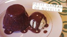 Petit Gateau de Nutella - Confissões de uma Doceira Amadora