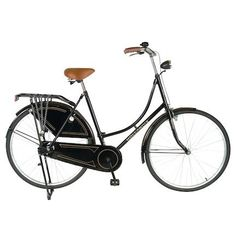 "Hollandia Oma 28"" Bicycle (Black) - OnlineSports.com"