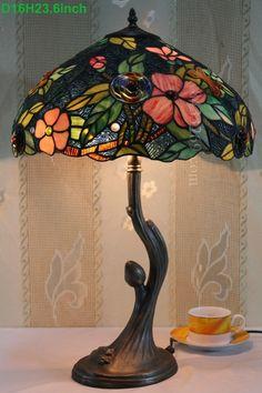 Butterfly Tiffany Lamp16S5-51T215