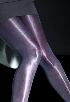 Raula 40 Den High Gloss Shiny Opaque Tights by Fiore Black Opaque Tights, High Gloss, Short Dresses, Stockings, Glamour, Legs, Color, Hosiery, Nylons