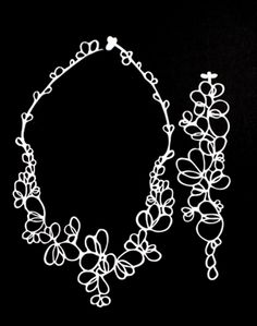 batucada jewelry-Petals Necklace-beautiful, organic designs from France at brooklyn5and10