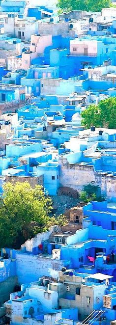 Jodhpur, Índia A Cidade Azul. Sonho em conhecer...