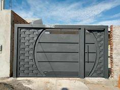 Modern Steel Gate Design, Modern Main Gate Designs, Iron Main Gate Design, Latest Main Gate Designs, Home Gate Design, Gate Wall Design, Grill Gate Design, House Main Gates Design, House Fence Design
