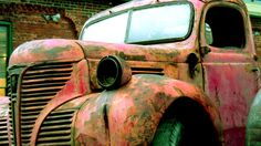 An old truck.