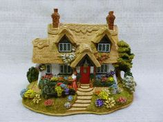 Lilliput-Lane-The-Flower-Barrow-Cottage-2003-The-British-Collection-L2644