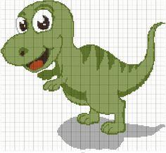 Stitch Fiddle is an online crochet, knitting and cross stitch pattern maker. Dragon Cross Stitch, Beaded Cross Stitch, Cross Stitch Baby, Cross Stitch Animals, Cross Stitch Charts, Cross Stitch Designs, Cross Stitch Embroidery, Embroidery Patterns, Crochet Dinosaur Patterns