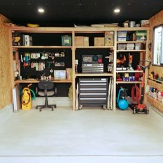 Kazuhiroさんの、DIY,ガレージ,机,のお部屋写真