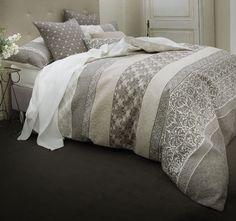 Linen House Lifestyle Selina Quilt Cover Set Range Grey