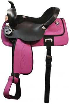 Saddles Tack Horse Supplies - ChickSaddlery.com Double T Cordura Saddle With Suede Seat