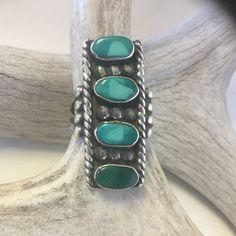 Four Stone Navajo Vintage    Size: 8