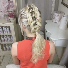 The Four Strand Knot Braid by SweetHearts Hair Design