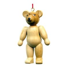 cool Christian Ulbricht Ornament - Teddy BearChristian Ulbricht Ornament - Teddy Bear - 2.75H X 1.75W X .75D Check more at http://christmasshortstory.com/product/christian-ulbricht-ornament-teddy-bear/