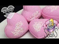 My Valentine's Day gift to you! Recipe 4 C Baking Soda 2 C Citric Acid 1 C SLSA C Cornstarch oz Jojoba Oil oz Poly 80 oz Lavender Oil 1 tsp F. Diy Crafts For Girls, Arts And Crafts, Bath Bomb Recipes, Bath Fizzies, Recipe For 4, Lavender Oil, Body Products, Jojoba Oil, Bath Bombs