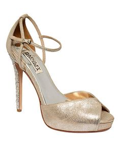 Badgley Mischka Shoes, Violetta Evening Platform Sandals Web ID: 763841  Be the first to write a review.  $255.00