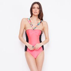 Giejo One Piece -PINK/ROSE #305-2