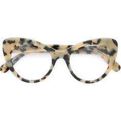 Stella McCartney 'Havana' cat-eye glasses ($340) ❤ liked on Polyvore featuring accessories, eyewear, eyeglasses, glasses, sunglasses, tortoise eyeglasses, tortoise shell glasses, stella mccartney glasses, stella mccartney eyeglasses and tortoiseshell cat eye glasses