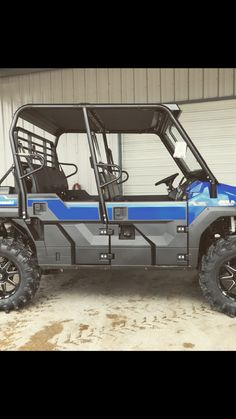 """Mule Pro FXT with 32"""" tall tires! #MainlandMules #highlifter #Mainlandcustoms #MainlandOutfitting"""