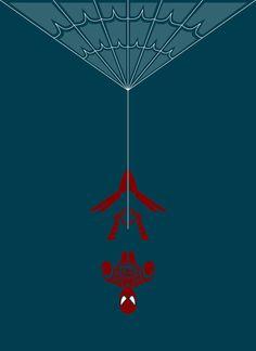Spiderman By Jeffrey Veregge - Epic Superhero Art in a Traditional Native American Style ! Comic Book Heroes, Comic Books Art, Comic Art, Native American Artists, Native American Fashion, Bruce Timm, Posters Geek, Be My Hero, Native Design