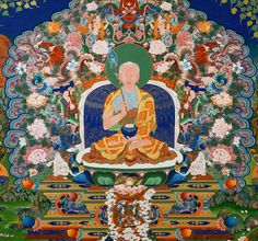 Feminism Awakens In Himalayan Buddhist Art and Meditation This is Mahapajapati Gotami, the Buddha's stepmother and aunt and the first woman to request and receive ordination from the Buddha. Buddhist Nun, Vajrayana Buddhism, Buddha Life, Thangka Painting, Painting Studio, Tibetan Buddhism, Himalayan, Traditional Art, New Art