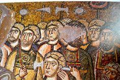 Varangian Guards.(in ceremonial costumes) Nea Moni-Chios Monastery-1040's.