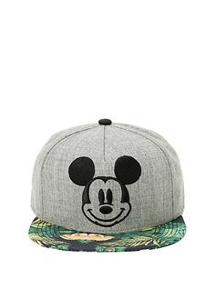 deede541e89 Disney Mickey Mouse Tropical Snapback HatDisney Mickey Mouse Tropical  Snapback Hat
