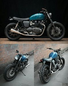 triumph thruxton 900 by wrenchmonkees large Triumph Thruxton 900 Moto Cafe, Cafe Bike, Cafe Racer Bikes, Triumph Cafe Racer, Cool Motorcycles, Triumph Motorcycles, Triumph Thruxton 900, Triumph Bonneville, Cafe Racer Motorcycle