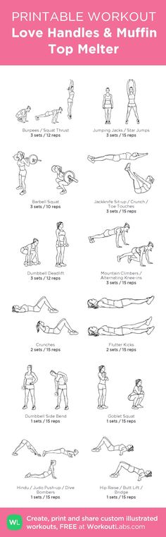 See more here ► https://www.youtube.com/watch?v=t6ic0NKYUMU Tags: how to lose my belly fat, tip on losing belly fat, how to lose fat belly - Love Handles & Muffin Top Melter – my custom workout created at WorkoutLabs.com • Click through to download as printable PDF! #customworkout #exercise #diet #workout #fitness #health