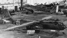 """""""The Arado Ar 234 was the world's first operational jet-powered bomber, built by the German Arado company in the closing stages of World War II. Produced in very limited numbers, it was used almost entirely in the reconnaissance role, but in its few uses as a bomber it proved to be nearly impossible to intercept. It was the last Luftwaffe aircraft to fly over England during the war, in April 1945."""""""