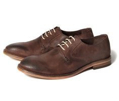 Yates brown oxfords by Hudson.