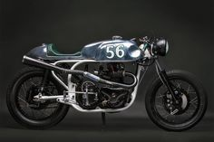 Norton Dominator cafe racer by Elemental Rides