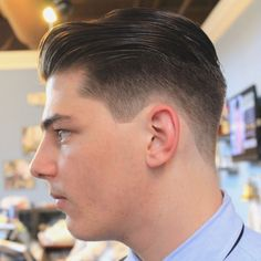 The slicked back undercut is one of the most popular men's hairstyles  www.stclarahair.com